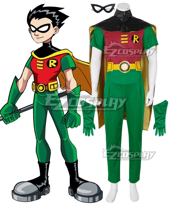 DC Comics Batman Robin Cosplay Costume