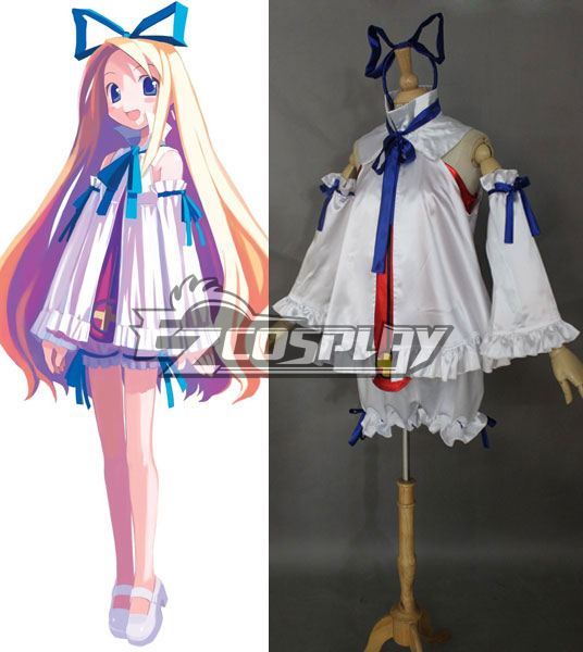 Disgaea Flonne Dress Cosplay Costume