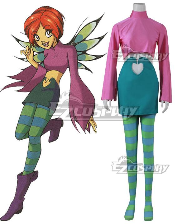 Disney W.I.T.C.H.  Witch Will Vandom Cosplay Costume