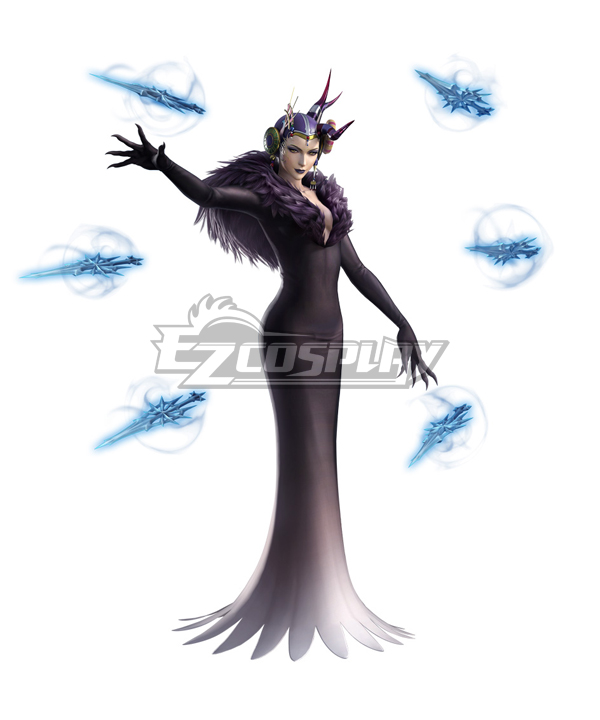 Dissidia Final Fantasy NT FF8 Ultimecia Edeas Corpse Cosplay Costume