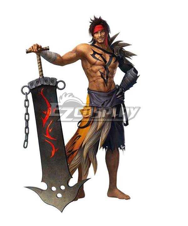 Dissidia Final Fantasy NT Jecht Cosplay Costume