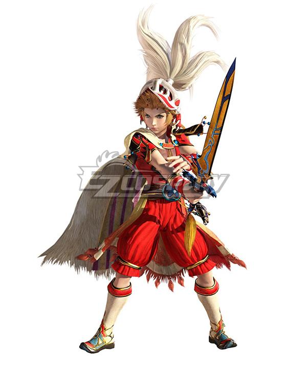 Dissidia Final Fantasy NT Onion Knight Fullset Cosplay Costume