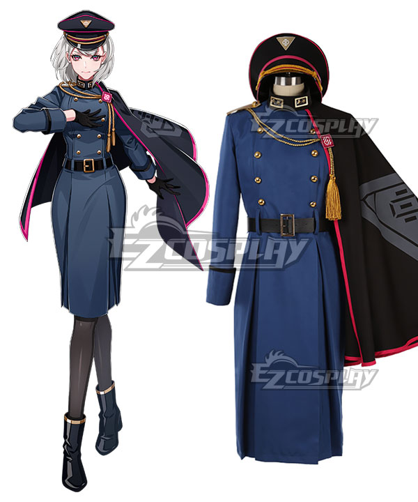 Division Rap Battle DRB Hypnosis Mic Nemu Aohitsugi Outfit Cosplay Costume