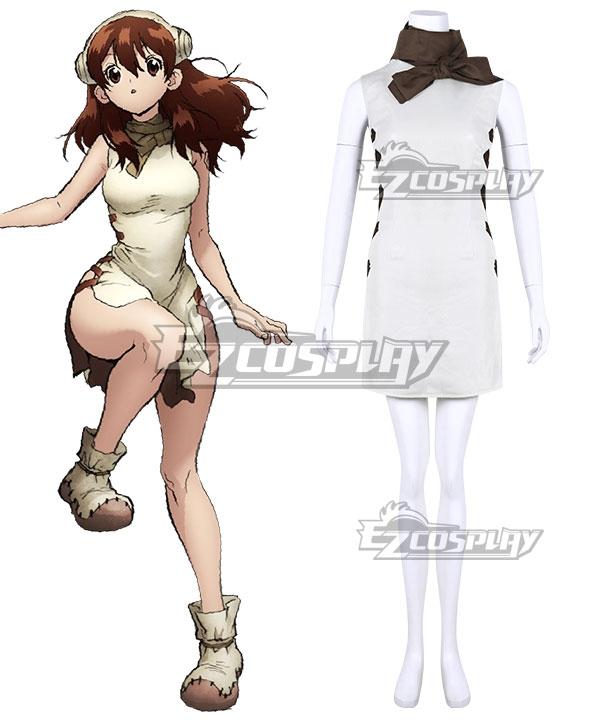 Dr.Stone Yuzuriha Ogawa Cosplay Costume