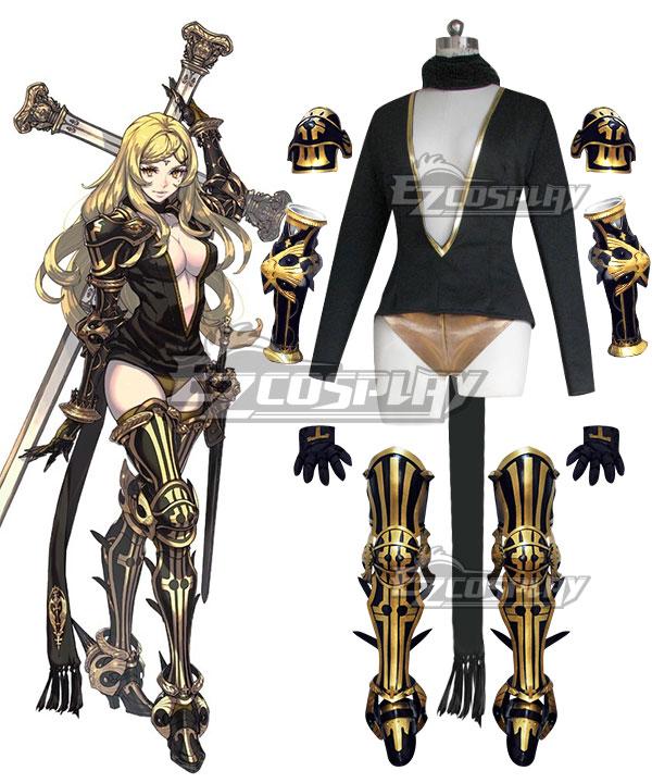 Drag On Dragoon 3 DOD3 Five Cosplay Costume