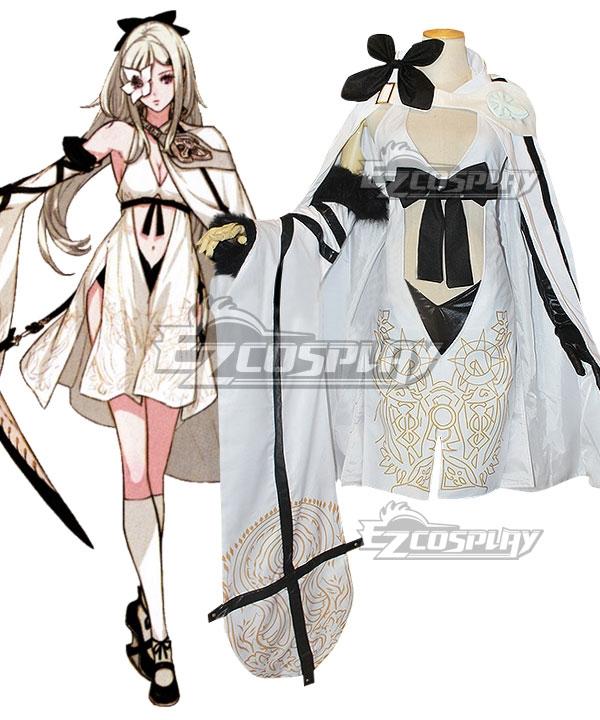 Drag On Dragoon 3 DOD3 Zero Cosplay Costume