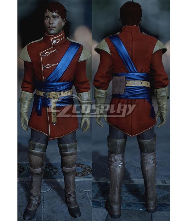 Dragon Age: Inquistion Inquisitor Trevelyan Halamshiral Ball Uniform Cosplay Costume