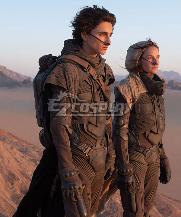 Dune 2020 Film Paul Atreides Fighting Suit Cosplay Costume