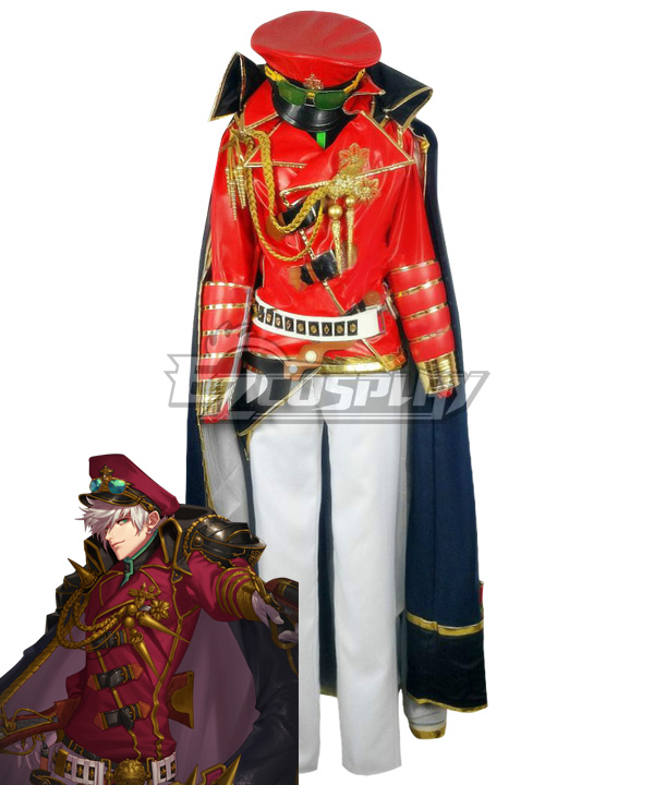 Dungeon Fighter Online Male Gunner Spitfire Second Awakening Marshal Cosplay Costume