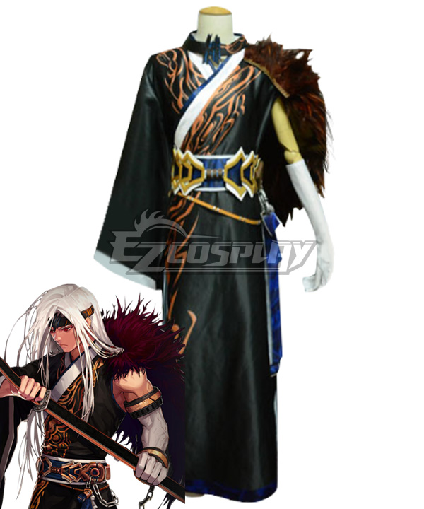 Dungeon Fighter Online Male Slayer Blade Master Second Awakening Omniblade Cosplay Costume