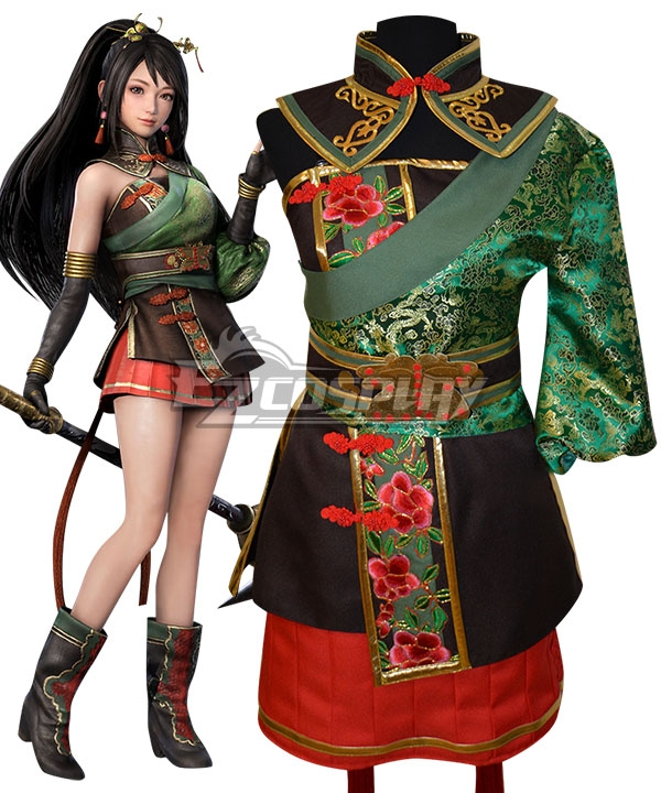 Dynasty Warriors 9 Guan Yinping Cosplay Costume