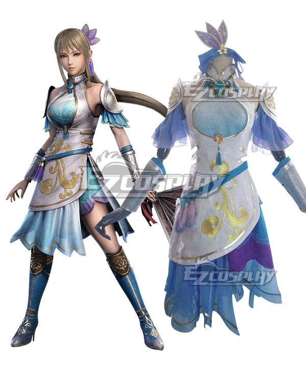 Dynasty Warriors 9 Wang Yuanji Cosplay Costume