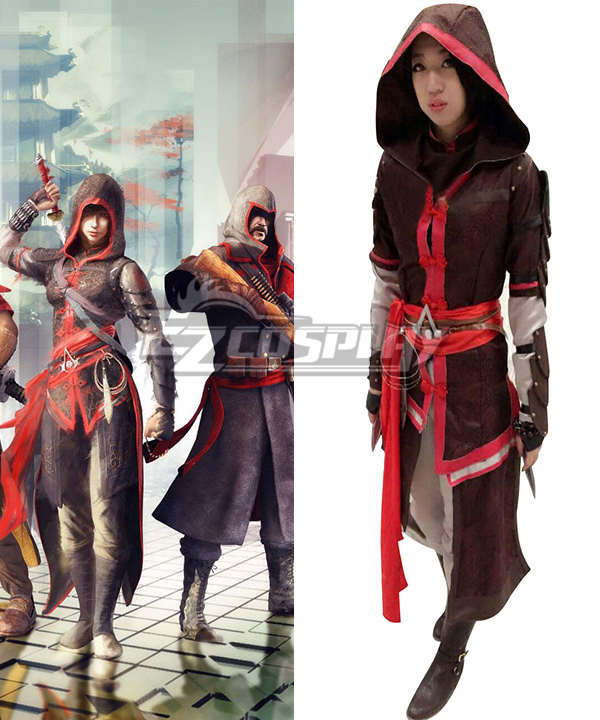 Assassin's Creed Chronicles China Shao Jun Cosplay Costume
