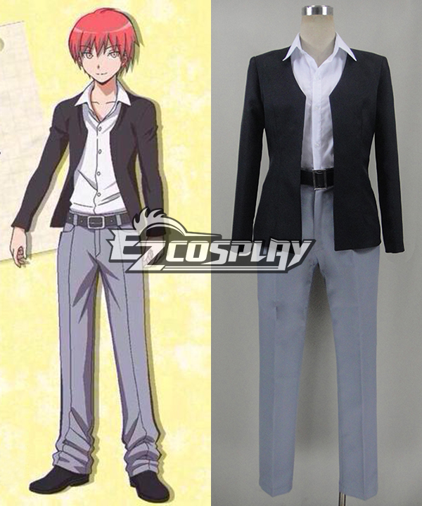 Assassination Classroom Ansatsu Kyoshitsu Akabane Karuma Uniform Cosplay Costume