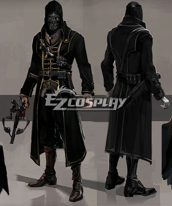 Dishonored Corvo Attano Full Set Cosplay Costume