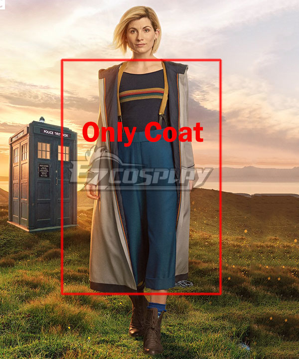 Doctor Who 13th Doctor Jodie Whittaker Cosplay Costume -Only Coat