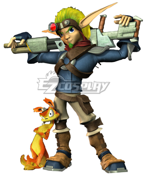 Jak and Daxter Jak Cosplay Costume