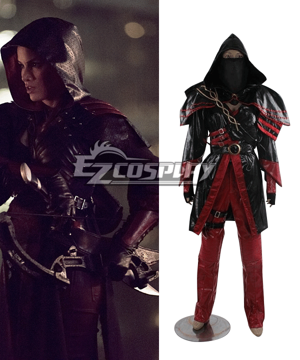 DC Comics Arrow Nyssa al Ghul Cosplay Costume Custom