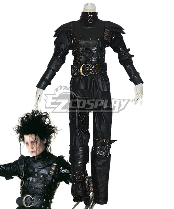 Edward Scissorhands Horror Halloween Cosplay Costume
