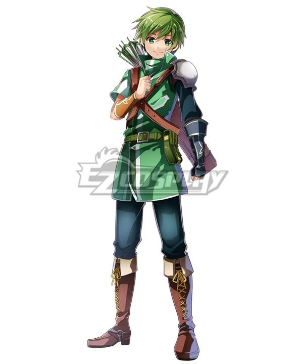 Fire Emblem Altean Archer Gordin Cosplay Costume