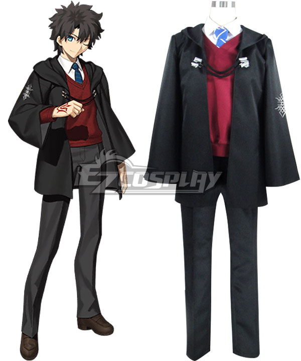 Fate Grand Order Male Master Mage's Association Uniform Cosplay Costume