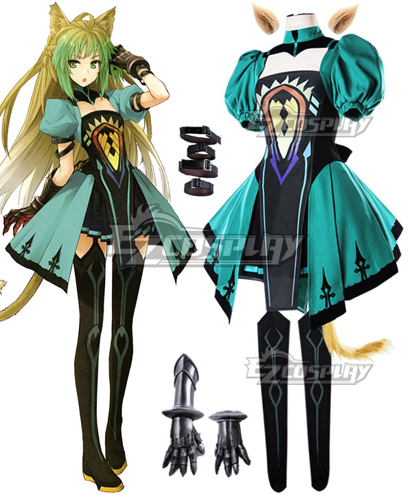 Fate Apocrypha Archer of Red Atalanta Chaste Huntress Cosplay Costume