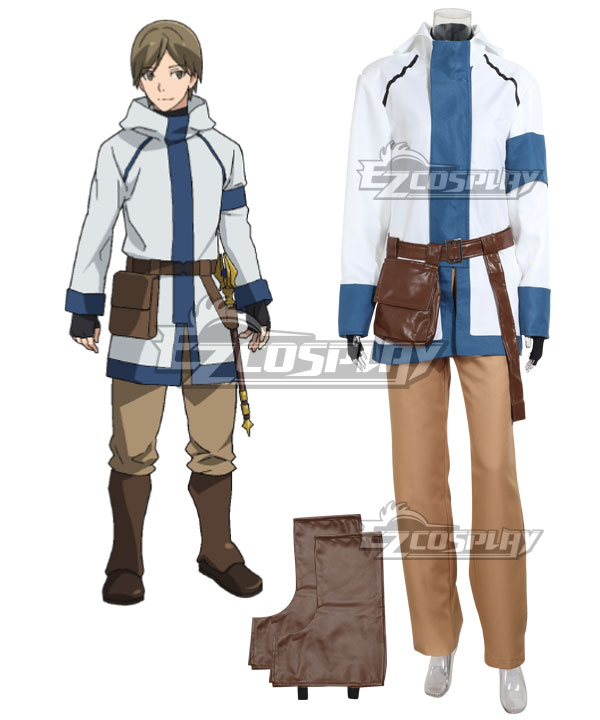 Grimgar of Fantasy and Ash Manato Cosplay Costume - A Edition