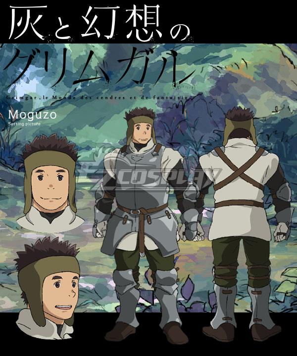 Grimgar of Fantasy and Ash Moguzou Cosplay Costume