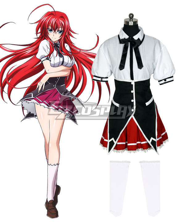 High School DxD BorN Rias Gremory Cosplay Costume