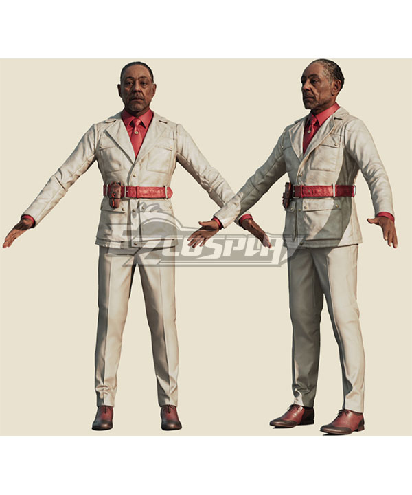 Far Cry 6 The Dictator Anton Castillo Cosplay Costume - No Badge