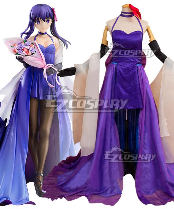Fate Stay Night Sakura Matou 15th Celebration Cosplay Costume