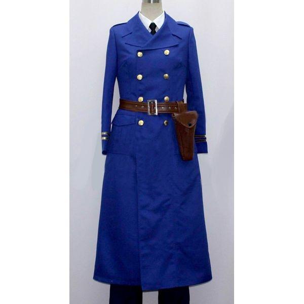 Berwald Sweden Cosplay Costume from Axis Powers Hetalia