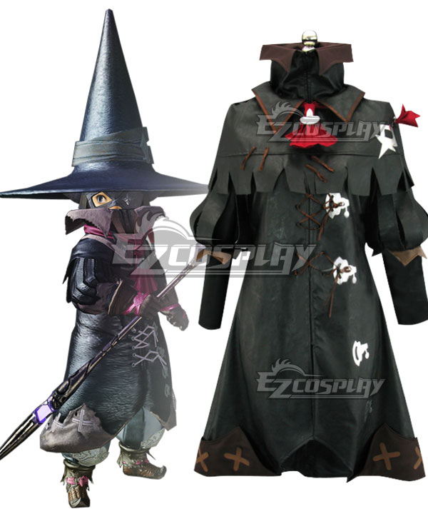 Final Fantasy XIV FF14 Black Mage BLM Cosplay Costume