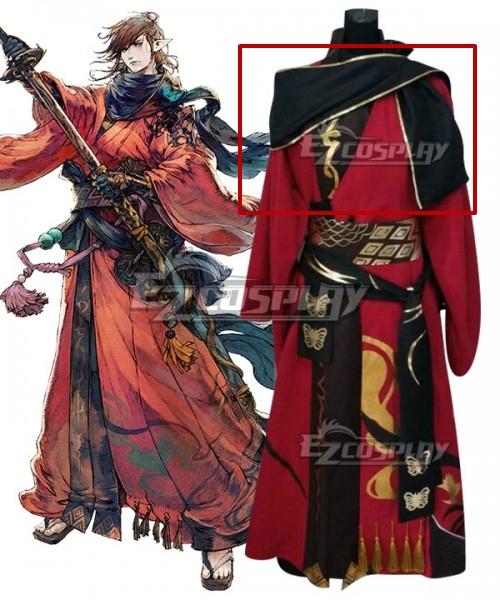 Final Fantasy XIV FF14 Samurai Cosplay Costume - Only Scarf
