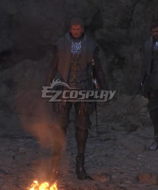 Final Fantasy XVI FF16 Male Cosplay Costume