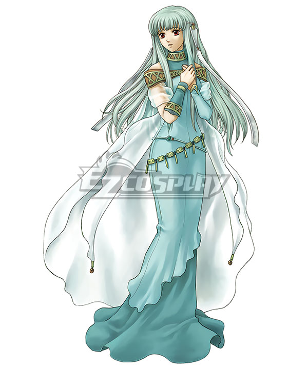 Fire Emblem: The Blazing Blade Ninian Cosplay Costume