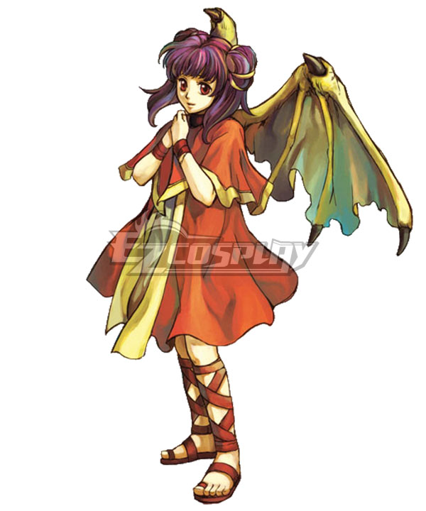 Fire Emblem: The Sacred Stones Myrrh Cosplay Costume