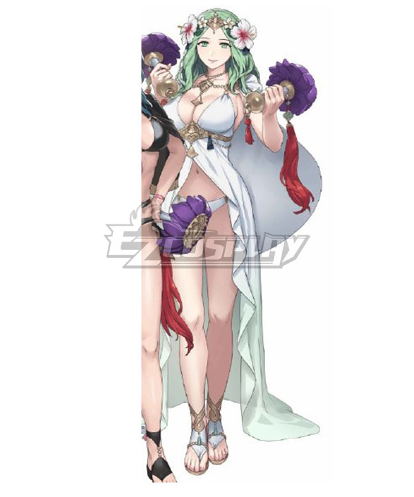 Fire Emblem: Three House Heros Rhea Swimsuit Summer Cosplay Costume