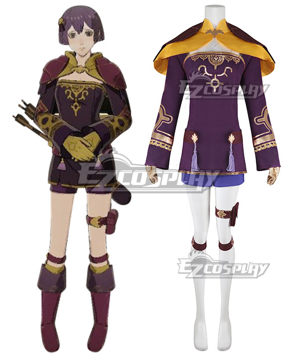 Fire Emblem: Three Houses 5 Years Bernadetta Timeskip Cosplay Costume