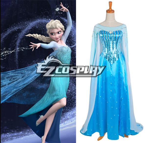 Frozen Elsa Disney Dress Cosplay Costume - Standard Ver.
