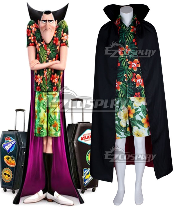 Hotel Transylvania 3: Summer Vacation 2018 Movie Dracula Cosplay Costume