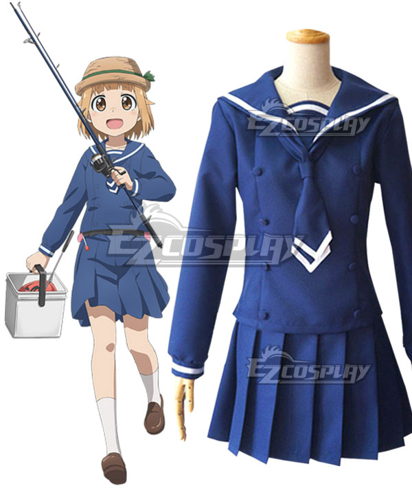 Houkago Teibou Nisshi Diary of Our Days at the Breakwater Tsurugi Hina Cosplay Costume