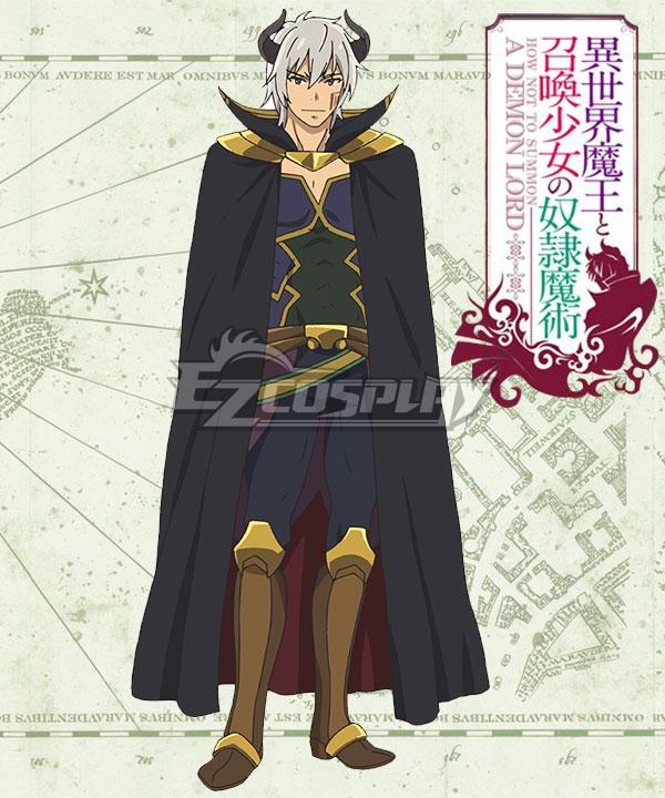 How NOT to Summon a Demon Lord Isekai Maou to Shoukan Shoujo Dorei Majutsu Takuma Sakamoto Diablo Cosplay Costume