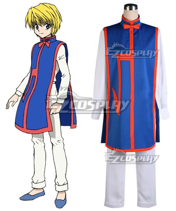 Hunter X Hunter Kurapika Cosplay Costume - New Edition