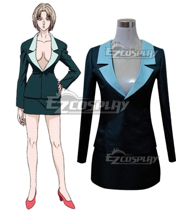 Hunter X Hunter Pakunoda Blue Cosplay Costume