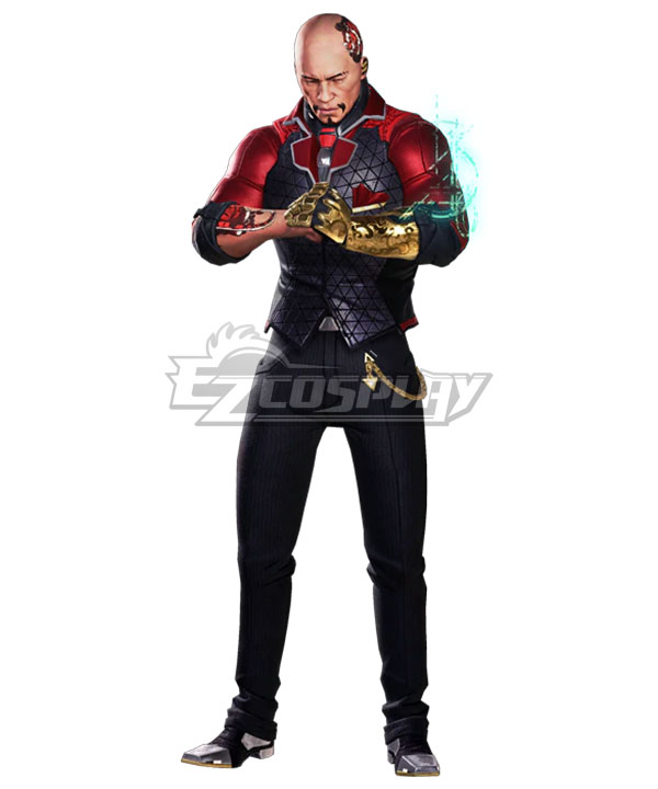 Hyper Scape Mister Red Halloween Cosplay Costume