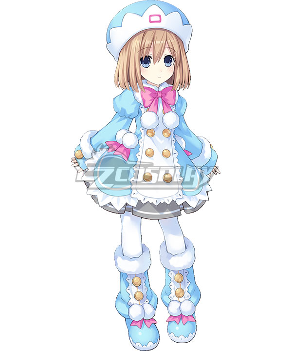 Hyperdimension Neptunia Rom Cosplay Costume
