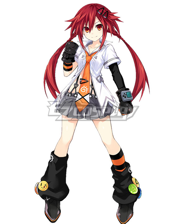 Hyperdimension Neptunia Uzume Tennouboshi Cosplay Costume