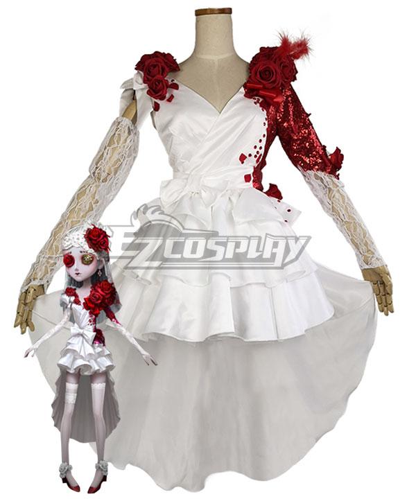 Identity V Perfumer Vera Nair Crimson Bride Halloween Cosplay Costume