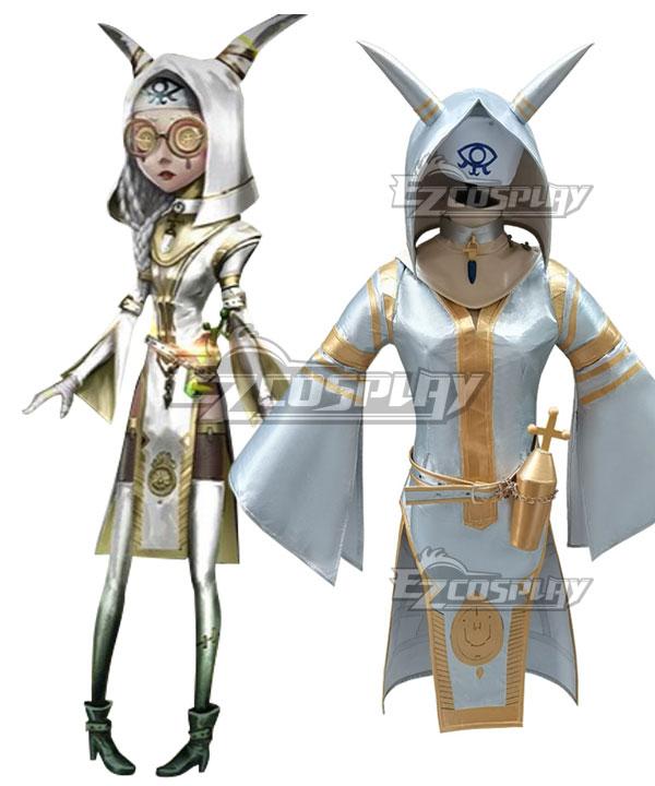 Identity V Priestess Fiona Gilman Golden Future Halloween Cosplay Costume